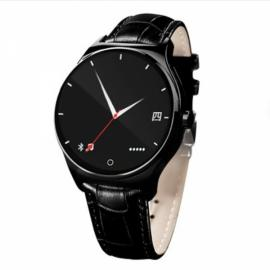 R11 Round Screen Bluetooth & Infrared Control Raise-to-Wake Heart Rate Monitor Smart Watch Black
