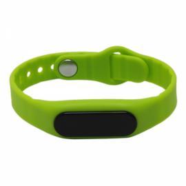 E06 Bluetooth Smart Sports Bracelet with Pedometer / Sleep Monitor / Call Notification / Anti-lost Green