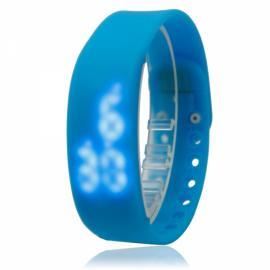 W2 USB Multi-functional 3D Pedometer Smart Sports Bracelet Blue