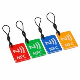 4pcs NXP Ntag203 Smart NFC Tags for Samsung Nokia Sony HTC Cellphone