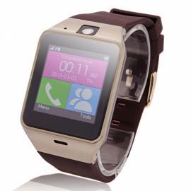 GV18 Aplus SIM Card NFC Camera Bluetooth Smart Watch Golden