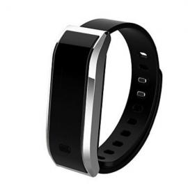TW07 Sports Pedometer Fitness Bluetooth Smart Wristband Watch for Android IOS Silver