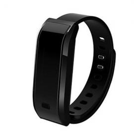 TW07 Sports Pedometer Fitness Bluetooth Smart Wristband Watch for Android IOS Black