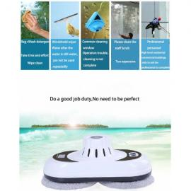 WS-600 Smart Remote Automatic Control Window Cleaning Robot Glass Cleaner White