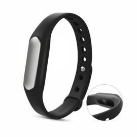 Original Xiaomi Mi Band 1S Heart Rate Wristband with White LED Black