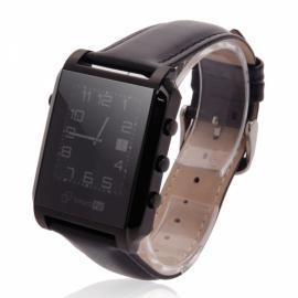 Smart Pal G1 Bluetooth Wristwatch Smart Watch with Remote Camera Pedometer GPS Black