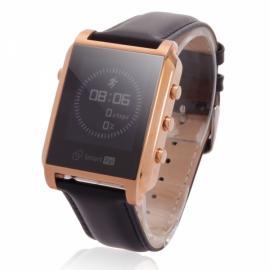 Smart Pal G1 Bluetooth Wristwatch Smart Watch with Remote Camera Pedometer GPS Golden