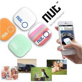 Nut 2 Bluetooth V4.0 Smart Chip Tracker Anti-lost Alarm Two-way Intelligent Patch Key Finder White