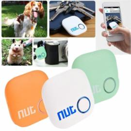 Nut 2 Bluetooth V4.0 Smart Chip Tracker Anti-lost Alarm Two-way Intelligent Patch Key Finder Jade Green