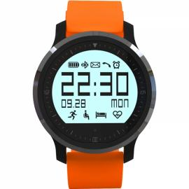 F68 Bluetooth 4.0 Heart Rate Monitor Smart Sport Wrist Watch for iPhone Android Phone Orange