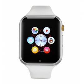 W1 Sports Mode Handsfree Call Anti-Lost 2.0MP Camera Bluetooth 4.0 Smart Watch White