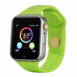 W1 Sports Mode Handsfree Call Anti-Lost 2.0MP Camera Bluetooth 4.0 Smart Watch Green