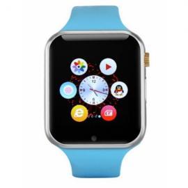 W1 Sports Mode Handsfree Call Anti-Lost 2.0MP Camera Bluetooth 4.0 Smart Watch Blue