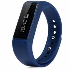 I5 Plus IP67 Waterproof Bluetooth V4.0 Sleep Monitoring Sports Tracking Call Alert Smart Wristband Blue