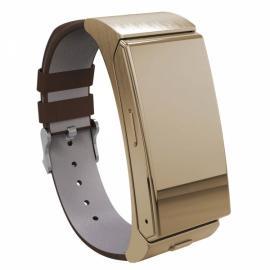 U20 U Mini Smart Watch with Heart Rate and Bluetooth Headphone Golden