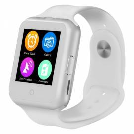 NO.1 D3 1.22-inch MTK6261 GSM SIM Card Bluetooth Smart Watch White
