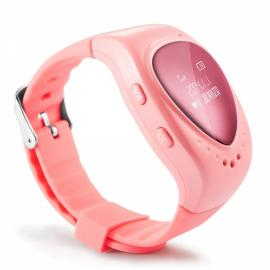 DMDG Kid's GPS Watch Tracker with GPS Tracker / Monitor / SOS Alarm / Smart Phones APP Tracking Pink