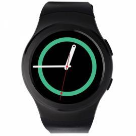 NO.1 G3 Full Round Screen SIM Card Heart Rate Sensor Bluetooth V4.0 Smart Watch Black