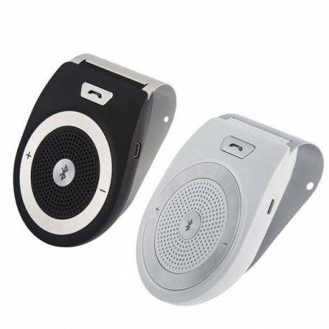 T821 Wireless Hands-free Bluetooth Handsfree Speaker Receiver Car Sun Visor Black