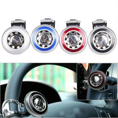 CBS-312 Car Steering Wheel Grip Spinner Knob Aid Control Handle Black