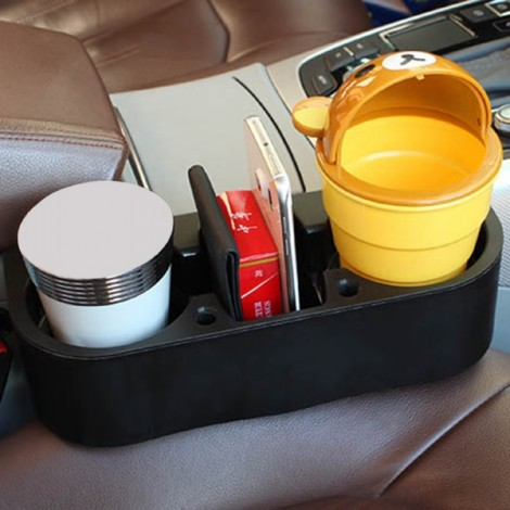 Universal Car Truck Vehicle Shelving Cup Holder Car Phone Mug Drink Holder Black