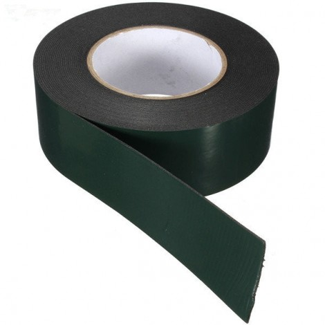 50MM x 10M x 1MM Strong Waterproof Adhesive Double Sided Foam Tape Car Trim Plate