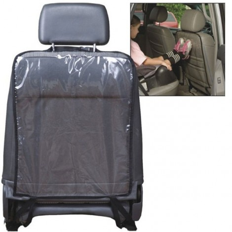 2pcs Wear-resistant Waterproof Protective Car Seat Back Cover Protector Transparent