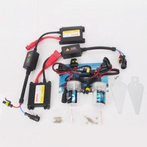 H1 6000K 55W Car HID Xenon Lamps + HID Ballasts Set