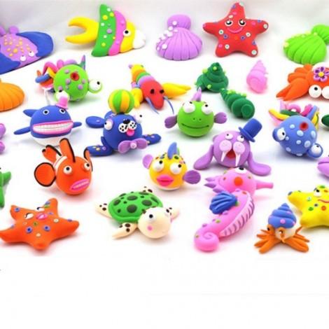 24pcs Colorful DIY Soft Polymer Clay DIY Modelling Toy