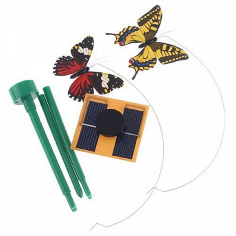 Solar Power Flying Butterfly Garden Yard Decoration
