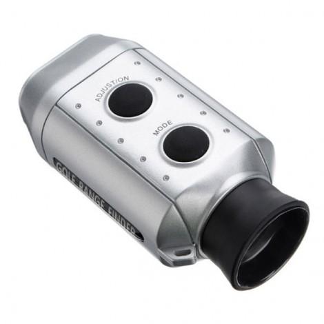 Golf Scope Sport Yards Distance Measurement Device Digital 7 x 18 Golf Range Finder Monocular Silver