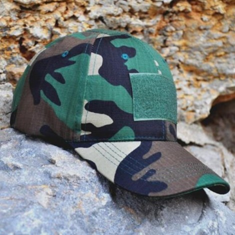 HAN WILD Unisex Hunting Tactical Baseball Cap Cotton Camouflage Hat Jungle Camouflage
