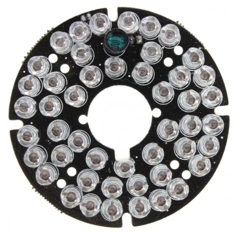 48-LED IR Infrared Illuminator Bulb Board for CCTV Security Camera