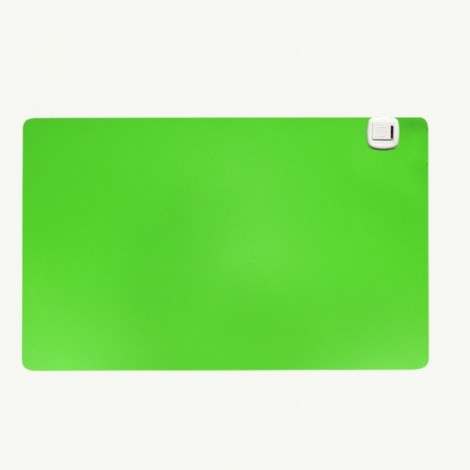 Electric Heating Pad Warm Mat for Computer Desk Office Table 52x26cm Green