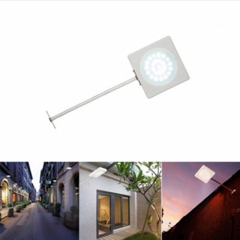 Solar 25 LED IP65 Microwave Radar Motion Sensor Light Waterproof Outdoor Street Security Lamp