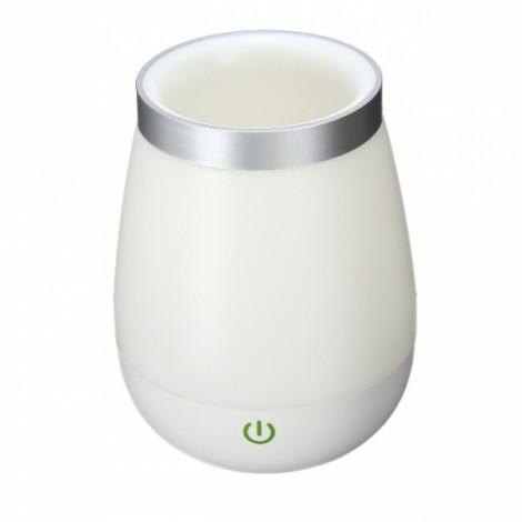 Rechargeable USB LED Vase Fish Bowl Table Night Light Decoration Lamp