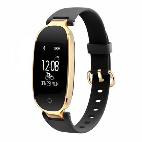 S3 Dynamic Heart Rate Waterproof Smart Bracelet Golden