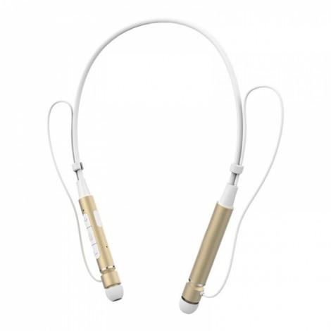 Roman Z6000 Sport Neckband Anti-sweat Wireless V4.1 Bluetooth Headphone Golden