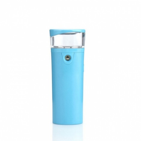 Nano Facial beauty Sprayer Portable Vaporizer Facial Skin Hydrating Water Face Steamer - Blue