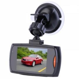 "G30 H300 2.4"" LCD 720P 120-Degree Wide Angle Motion Detection Night Vision G-Sensor Car DVR Video Recorder Dash Cam Black"