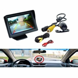 4.3 inch TFT LCD HD Digital Monitor Color Screen + Car Rear View Reversing Camera