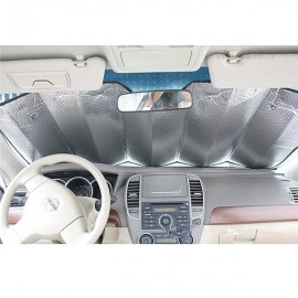 Car Front & Side & Back Window Visor Sunshade 6-Piece Set