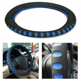 Economic Personality Automotive Supplies Steering Wheel Cover Blue
