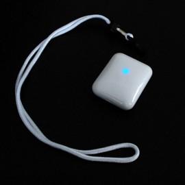 Rechargable Personal Necklace USB Mini Air Purifier White