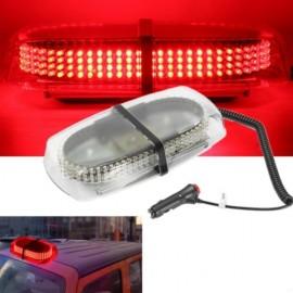 240-LED Car Roof Top Light Explosion Emergency Flashing Warning Light Strobe Light Red