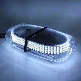 240-LED Car Roof Top Light Explosion Emergency Flashing Warning Light Strobe Light White