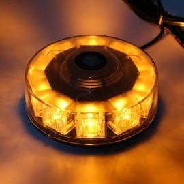 30W 240 LED Car Emergency Strobe Light Beacon Flashing Warning Lamp Amber Yellow
