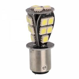 1157 BAY15D 18 SMD Red OBC P21/5W Car LED Light Bulb White