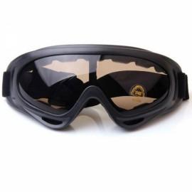 HOT Motorcycle Dustproof Ski Snowboard Sunglasses Goggles Brown