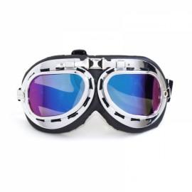 Windproof Anti-UV Motorcycle Biker Flying Goggles Helmet Glasses Protector Colorful